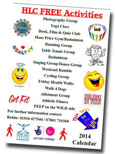 Healthy Connections - Free Activities.